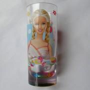Barbie szivárványos pohár