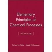 Elementary Principles of Chemical Processes: Student Workbook by Richard Mark Felder