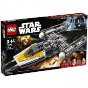 Конструктор Лего Стар Уорс - Y-wing Старфайтър - LEGO Star Wars, 75172