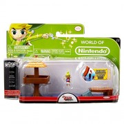 Nintendo Jakknin028Wot - World Of Micro Land Zelda Playset Water Ocean With Tetra Figure