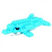 9319 Dolphin Plastic Mini Diamond Blocks Assembled Brick Block Toys