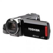 Toshiba CAMILEO X200 - Caméscope - 1080p - 8.0 MP - 12 x zoom optique - flash 128 Mo - carte Flash - noir