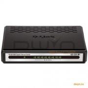 D-Link, Switch Desktop 16 porturi 10/100/1000, plastic, D-LinkGO