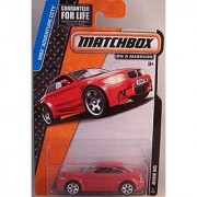 Matchbox MBX Adventure City BMW M1 in Red #8/120 2015