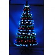 Árvore de Natal 1,20m Fibra Ótica Programável 110v-220v - 1265