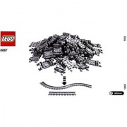 LEGO Flexible Train Track 8867