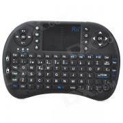 Rii RT-MWK08 Teclado de raton inalambrico espanol Combo + Touch Pad para Smart Android OS TV - Negro