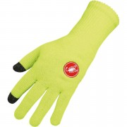 Castelli Prima Gloves - Fluorescent Yellow - L/X
