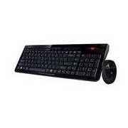 Gigabyte GK-KM7580 vezeték-nélküli billentyűzet+egér fekete, HUN