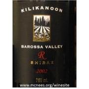 2002 Kilikanoon Greens Barossa Reserve Shiraz