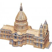 St Paul's Cathedral Matchstick Model Construction Kit Matchcraft