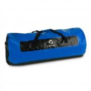 Yukatana Quintoni 120 Duffel Gym Bag 120 litri geanta impermeabila negru / albastru