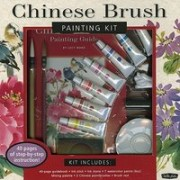 Chinese Brush Painting Kit [With Ink Stick, Ink Stone, Mixing Palette, Brush Rest and 2 Chinese Paintbrushes and 7 Watercolor