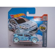 Hot Wheels '12 Ford Fiesta 2016 HW Snow Stormers 157/250 (Short Card)