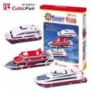 "CubicFun 3D Puzzle Ship-Serie ""Club n?utico"""