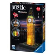 Puzzle 3D Ravensburger Big Ben With Lights 216 Pieces
