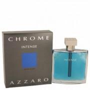 Chrome Intense For Men By Azzaro Eau De Toilette Spray 3.4 Oz