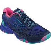 Wilson Kaos W Blue Iris - Zapatillas de tenis, Mujer