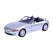 "Motormax GOTZMM73269SL 1:24 Scale Silver ""BMW Z4"" Die Cast Model Car"