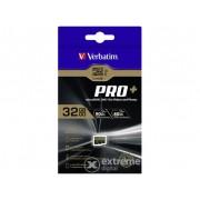 Card memorie Verbatim PRO+ Class10 UHS-I 32GB SDHC