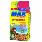 KIKI MAX Menu Cockatiel 500g ZIP korely a agapornisy