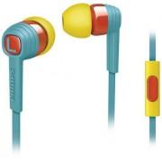 Casti Stereo Philips SHE7055BR/00 (Albastru/Galben)
