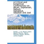 A Critical and Exegetical Commentary on Micah, Zephaniah, Nahum, Habakkuk, Obadiah and Joel by John Merlin Powis