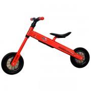 Bicicleta fara pedale DHS B-Bike rosu