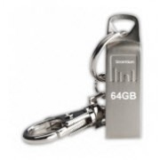 Strontium AMMO Silver 64GB USB Flash Drive with FREE Key Chain
