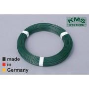 KMS Spanndraht, 100 m Rolle, 2,7 mm Durchmesser, grün RAL 6005