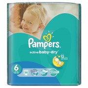 Scutece Pampers Active Baby 6 ExtraLarge Value Pack 36 buc