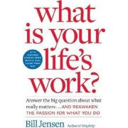 What Is Your Life's Work?: Answer The Big Questions About What Really Matters And Re-Awaken The Passion For What You Do by Bill Jensen