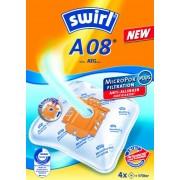Swirl A 08 (A 09) AirSpace Sacchetti filtro per aspirapolvere