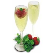 Plastic Champagne Flute 5oz - Enjoy Some Bubbly Outside