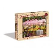 Clementoni - Puzzle de 1000 piezas, Romantic Italy, diseño Toscana (392605)