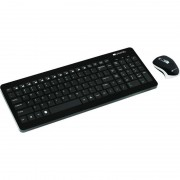 Kit tastatura si mouse Canyon CNS-HSETW3-US Black