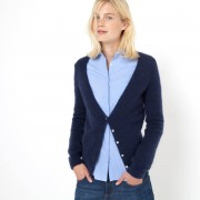 R essentiel Strickjacke, Mohair