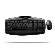 Kit Tastatura + Mouse LOGITECH, model: MX 3200, layout: SPN, NEGRU, USB, WIRELESS, MULTIMEDIA