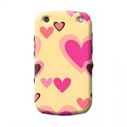 Garmor Heart Shape Design Plastic Back Cover For BlackBerry Curve 9320 (Heart Shape - 6)