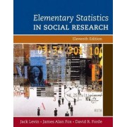 Elementary Statistics in Social Research by Jack Levin