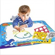 Doodle Mat Magic Pen Water Painting Drawing Writing Board Large Size For Baby Kids Gift by lanlan