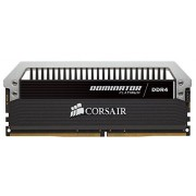 Corsair Dominator Platinum CMD32GX4M4B2400C10 Kit di Memoria RAM da 32GB, 4x8GB, DDR4, 2400 MHz, CL10, Nero