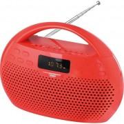 TREVI KB 308 BT RED Radio MP3 FM Stereo Bluetooth et fonction mains libres