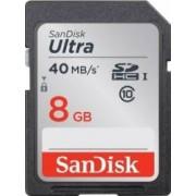 Card de Memorie SanDisk Ultra 8GB SDHC Clasa 10