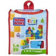 Mega Bloks First Builders Build And Learn 1 2 3 Count