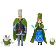 Frozen Small Dolls Gift Set Troll Wedding Mattel