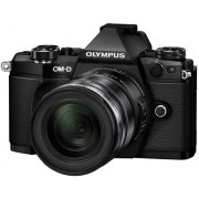 Aparat Foto Mirrorless Olympus E-M5II 1250 Kit, 16 MP, Filmare Full HD (Negru)