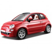 Schaalmodel Fiat 500 cabrio 1:24