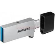 Stick USB Samsung MUF-128CB DUO, 128GB, USB 3.0 + microUSB