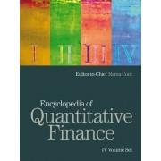 Encyclopedia of Quantitative Finance by Rama Cont